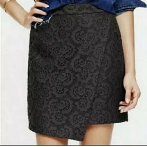 Madewell Lace Asymmetrical Skirt Size 2